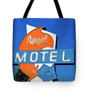 Angel Motel Tote Bag