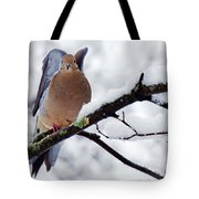 Angel Mourning Dove Tote Bag