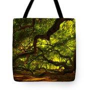Angel Oak Limbs 2 Tote Bag by Susanne Van Hulst