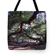 Angel Oak Side View Tote Bag