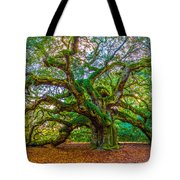 Angel Oak Tree Charleston Sc Tote Bag