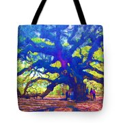 Angel Oak Tree Tote Bag