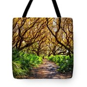 Angel Oaks In Sunshine Tote Bag