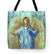 Angel Of Harmony Tote Bag
