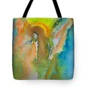 Angel Of Kindness Tote Bag