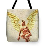 Angel Of Love By Mb Tote Bag