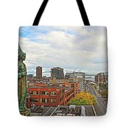 Angel Of Old Montreal Tote Bag