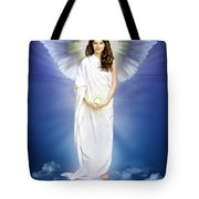 Angel Of Pure Light Tote Bag