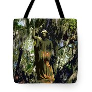 Angel Of Savannah Tote Bag