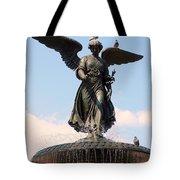 Angel Of The Waters Pigeons Tote Bag