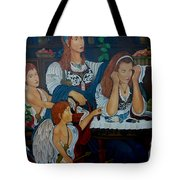 Angel On Clouds Tote Bag