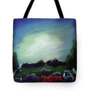 Angel On The Rocks Tote Bag
