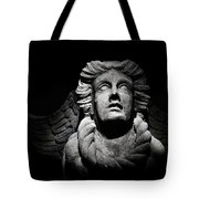 Angel On The Wall Tote Bag