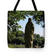 Angel Over Natchez Tote Bag