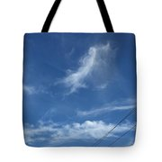 Angel Over Two Notch Road Tote Bag
