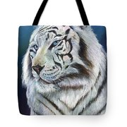 Angel The White Tiger Tote Bag