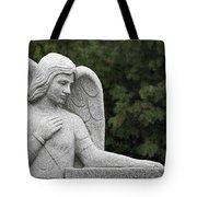 Angel Watching Over Me Tote Bag