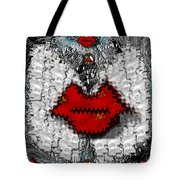 Angel Wings Brings Love And Peace Tote Bag