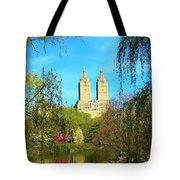 Perfect Morning In The Park Tote Bag