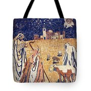 Angel With Shepherds Tote Bag