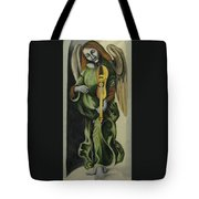 Angel With Violin Tote Bag