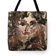 Angela I Tote Bag by Khalid Alzayani