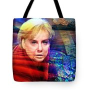 Angela Merkel's Portrait Tote Bag