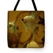 Angelfish Reflections Tote Bag