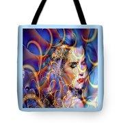 Angelic Beauty Tote Bag