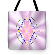 Angelic Code - Sacred Symbol Of Love Tote Bag