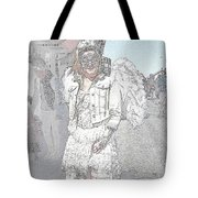 Angelic Goth Tote Bag