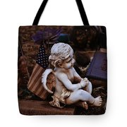 Angelic Sentry Tote Bag