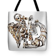 Angelic Tube 3636 Tote Bag