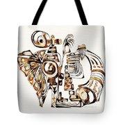 Angelic Tube 3637 Tote Bag