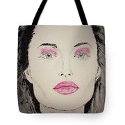 Angelina Jolie As Maleficent Tote Bag