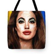 Angelina Jolie  Tote Bag