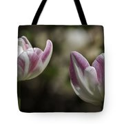 Angelique Peony Tulips 2 Tote Bag