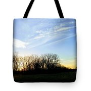 Angels Above Tote Bag
