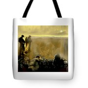 Angels And Brothers Tote Bag