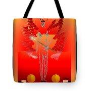 Angels - Archangel Sariel Tote Bag