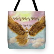 Angels Cry Holy Tote Bag