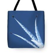 Angels Divide Tote Bag