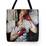 Angel's Dont Cry. Tote Bag