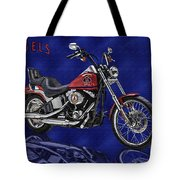 Angels Harley - Oil Tote Bag