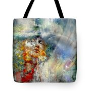 Angels In Heaven Tote Bag
