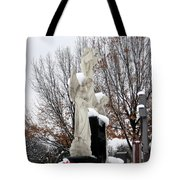 Angels In The Winter Tote Bag