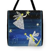 Angels, Joy, Lucky Stars Tote Bag