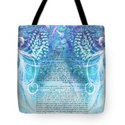 Angels Ketubah-reformed And Interfaith Version Tote Bag