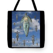 Angels Of Quebec Tote Bag