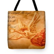 Angels On Guard Tote Bag